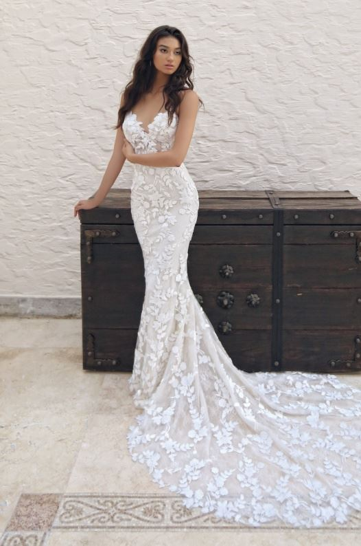 Lesley wedding gown by enzoani blue
